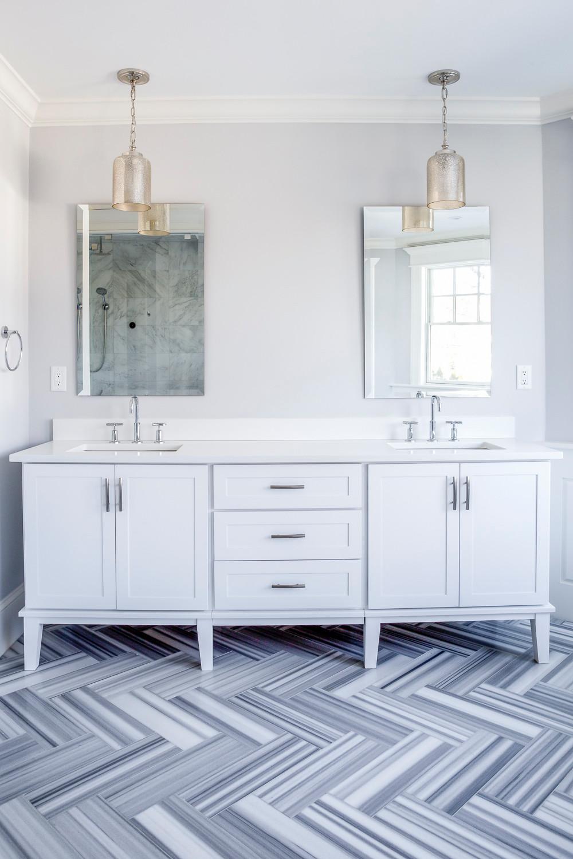 Wellesley Benvenue Master Bathroom Suite
