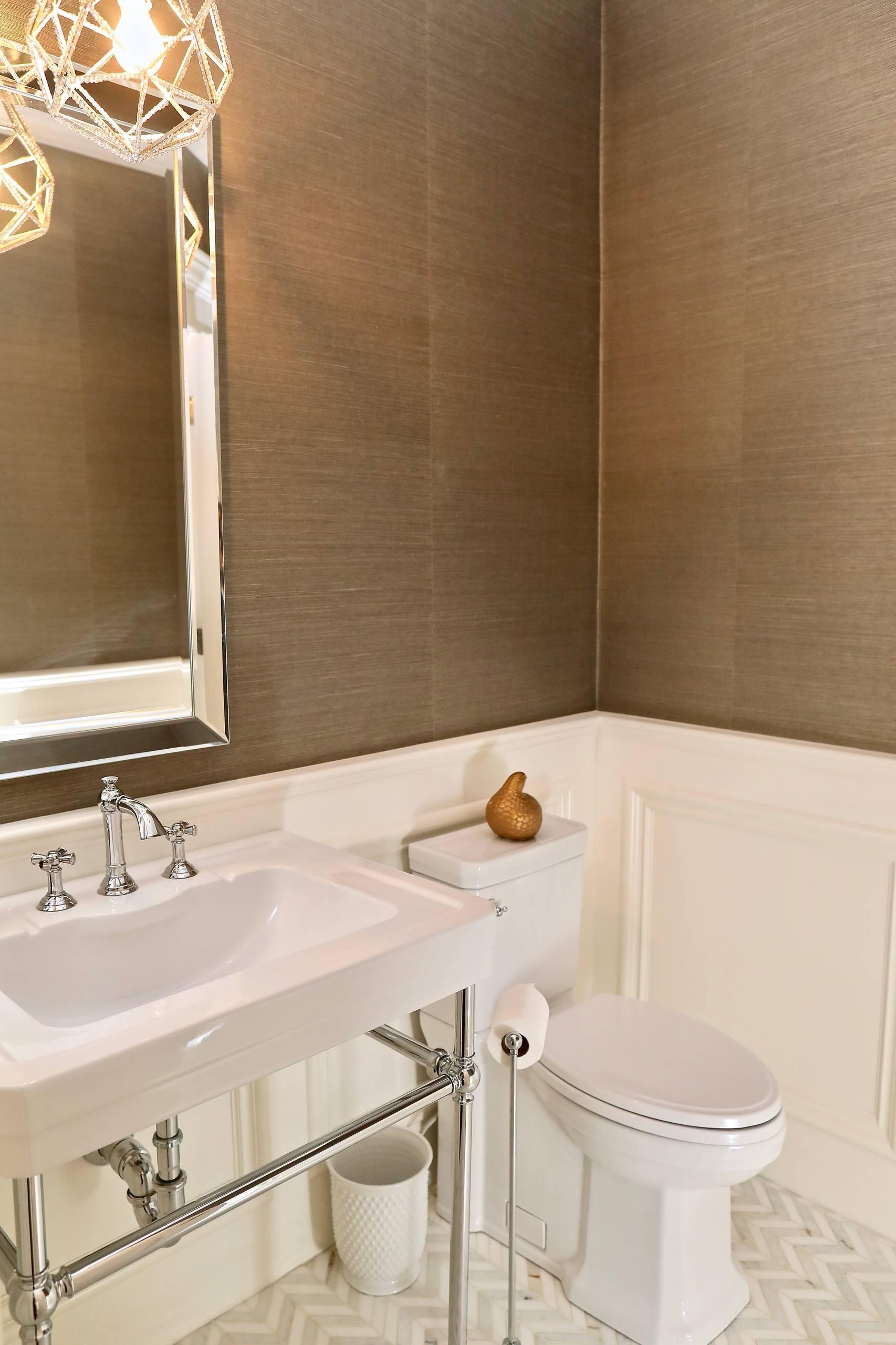 Wellesley Powder Bathroom