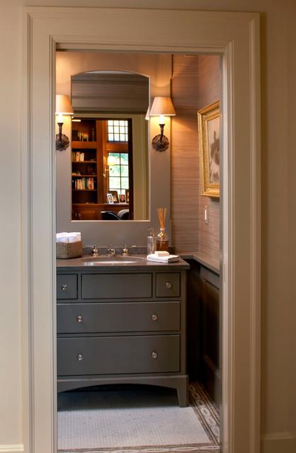 Wellesley Residence traditional-bathroom