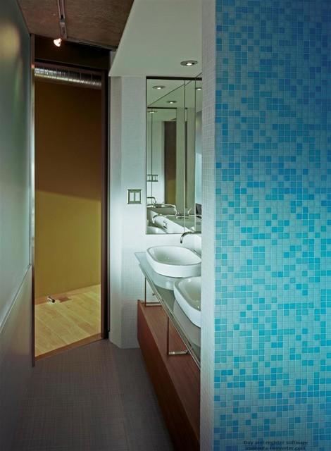 Wellington modern bathroom toronto by arcademia for Bathroom design wellington