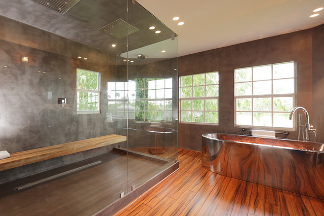 Houzz master bathroom