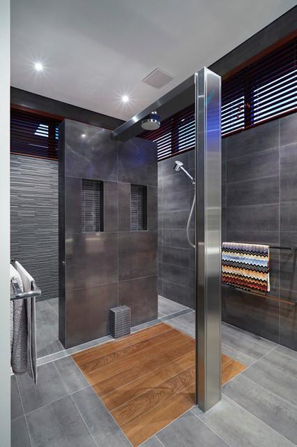 Wembley residence 2012 contemporary bathroom perth for Contemporary bathroom designs 2012