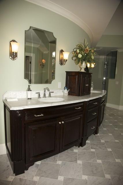 Wenge Bathroom traditional-bathroom