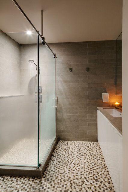 West 67th St. Residence contemporary-bathroom