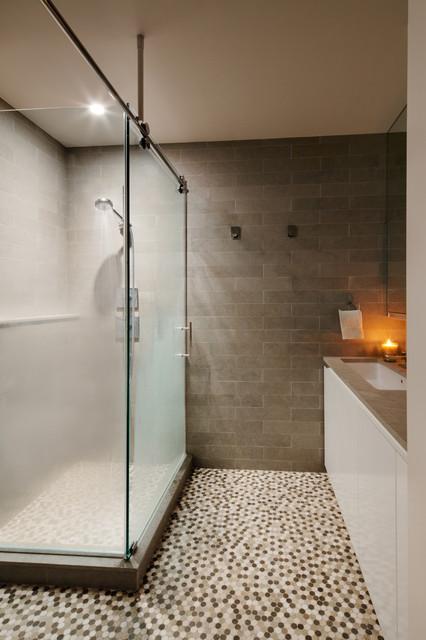 Kornfeld Residence contemporary-bathroom
