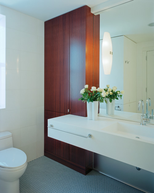 Donald Billinkoff Architects contemporary bathroom