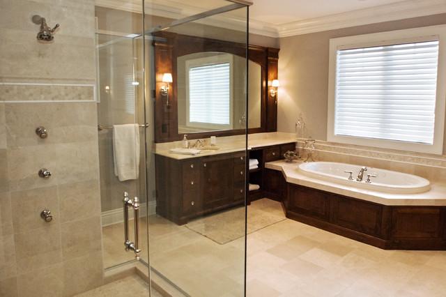 West Arm Cottage traditional-bathroom