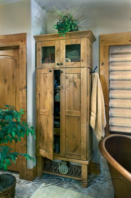 West Bend/Big Cedar Lake whole house remodel traditional-bathroom
