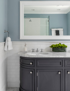 West Cambridge Renovation - Traditional - Bathroom - boston - by LDa Architecture & Interiors