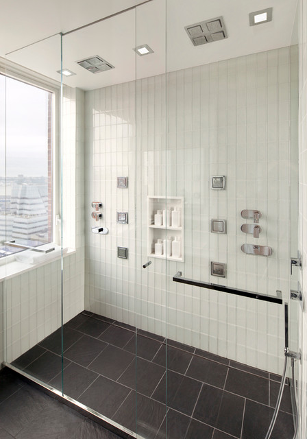 West Chelsea Residence contemporary-bathroom