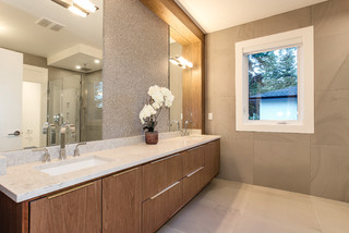 West Coast Contemporary Contemporary Bathroom Other By Gm Drafting Design Inc