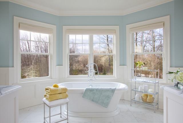 West Coast Hampton Traditional Bathroom Portland By Garrison Hullinger Interior Design Inc
