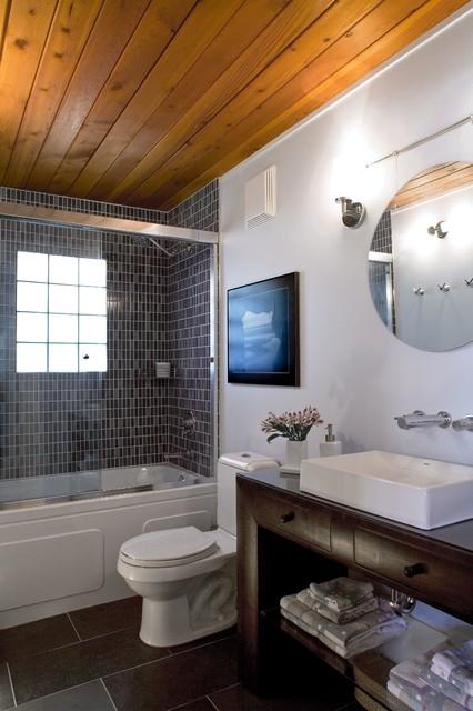 West Coast Zen contemporary-bathroom