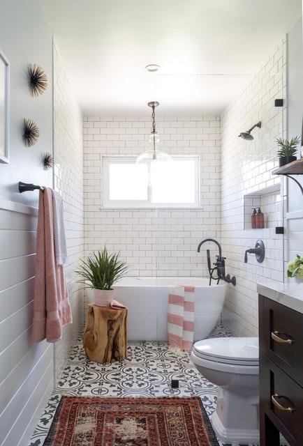 West Covina Guest Bathroom Farmhouse Bathroom Los