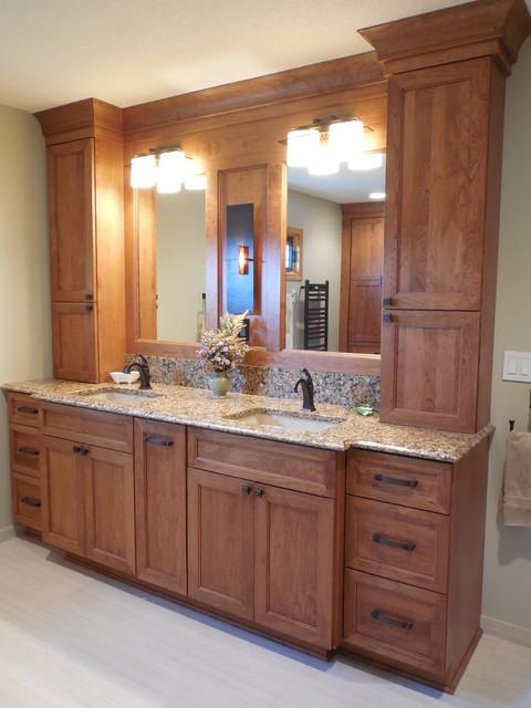 West Des Moines Remodel Transitional Bathroom Other