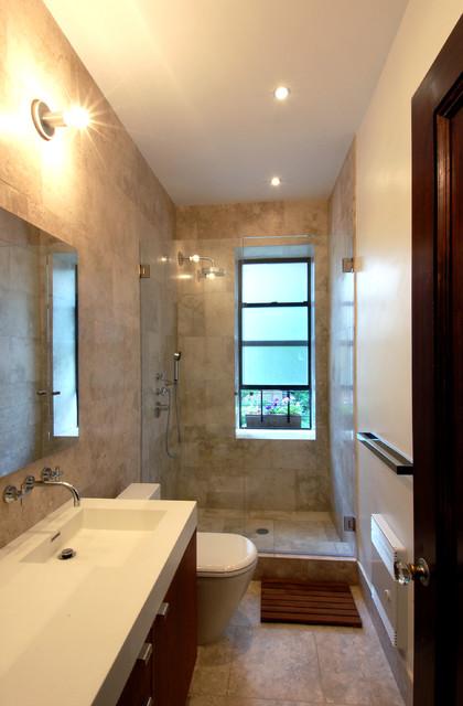 West End Avenue Apartment contemporary-bathroom
