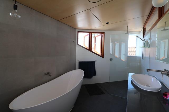 West End House contemporary-bathroom