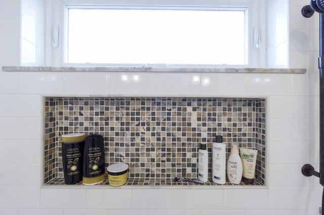 West greenwich ri master bath remodel transitional for Bath remodel ri