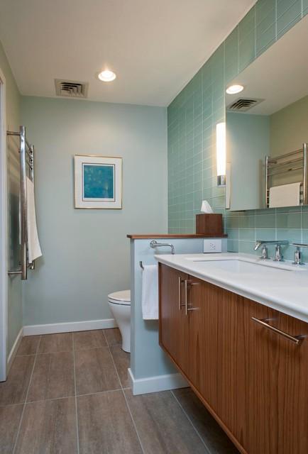 West Hartford Modern Bathrooms Modern Bathroom Other By Kirsten Floyd Interior Design Llc