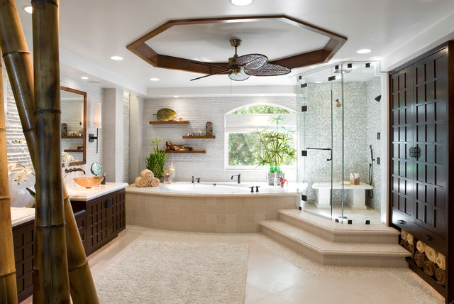 West Hills Master Bathroom Retreat Asian