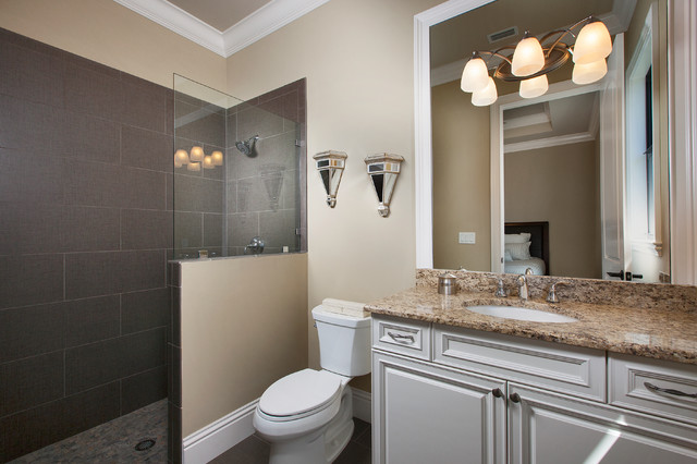 West Indies waterfront home traditional-bathroom