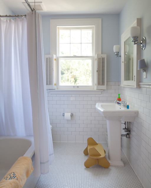Traditional Bathroom by Vujovich Design Build, Inc.