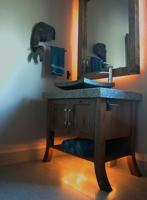 West Kelowna Residence eclectic-bathroom