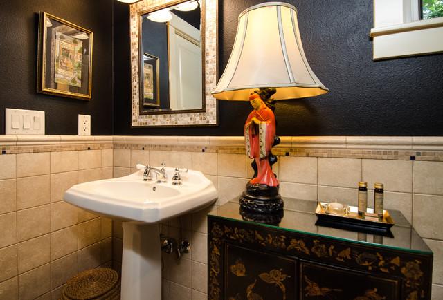 West Linn Global and Contemporary Blend asian-bathroom