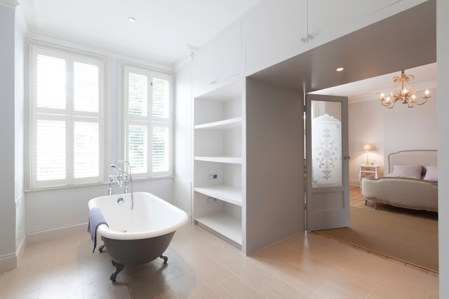 West london project eclectic bathroom oxfordshire for Bathroom design oxfordshire