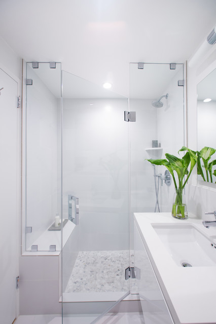 Bathroom Remodeling Los Angeles >> West Los Angeles Bathroom Remodel - Contemporary - Bathroom - los angeles - by Overland