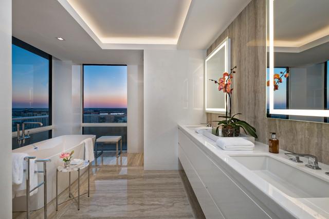 West Palm Beach Penthouse Renovation Contemporary