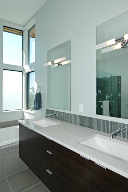 West Seattle Interior modern-bathroom