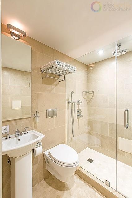 west side townhouse   modern   bathroom   new york   by
