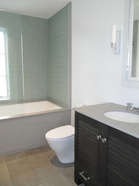 West Tisbury Project contemporary-bathroom