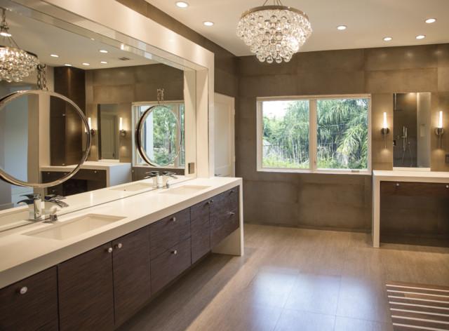 West University Master Bathroom Houston Texas 2015 Contemporary Bathroom Houston By