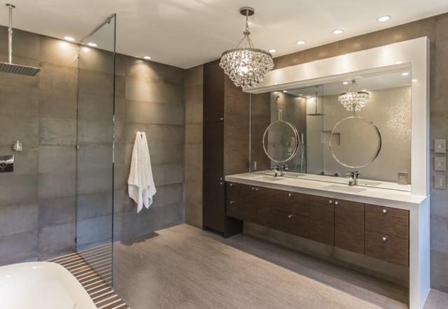 West University Master Bathroom | Houston, Texas | 2015 contemporary-bathroom