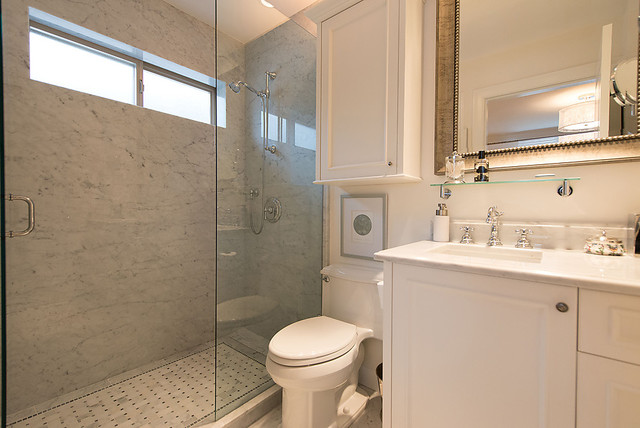 West Vancouver Renovation traditional-bathroom