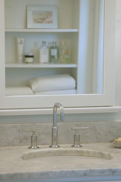 West Yarmouth Retreat (Master Bath) beach-style-bathroom
