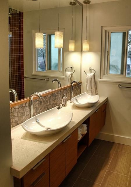 Westchester Bathroom modern-bathroom