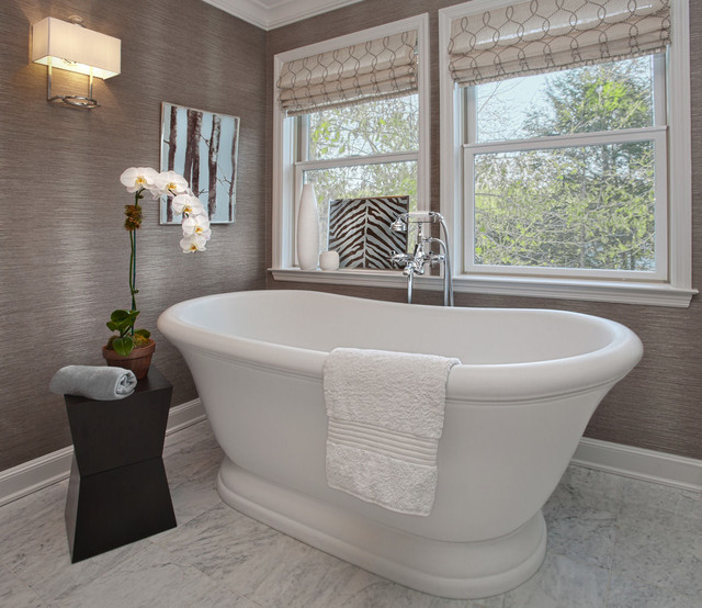 Westchester Master Bath transitional-bathroom
