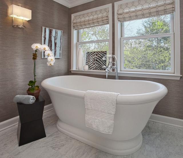 Westchester Master Bath transitional-bathroom