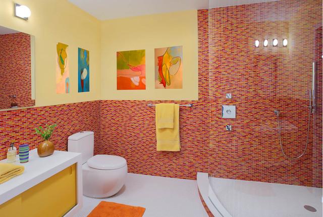 Westchester, NY contemporary-bathroom