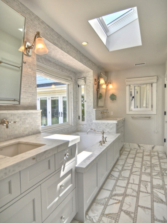 Save email for Galley style bathroom