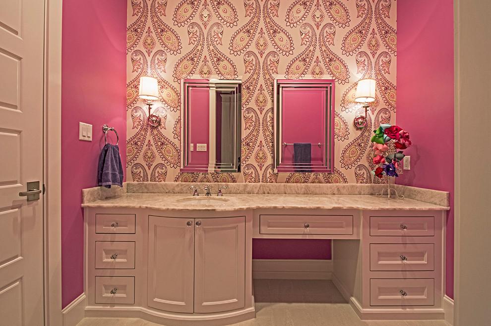 Westlake New Construction - Transitional - Bathroom ...