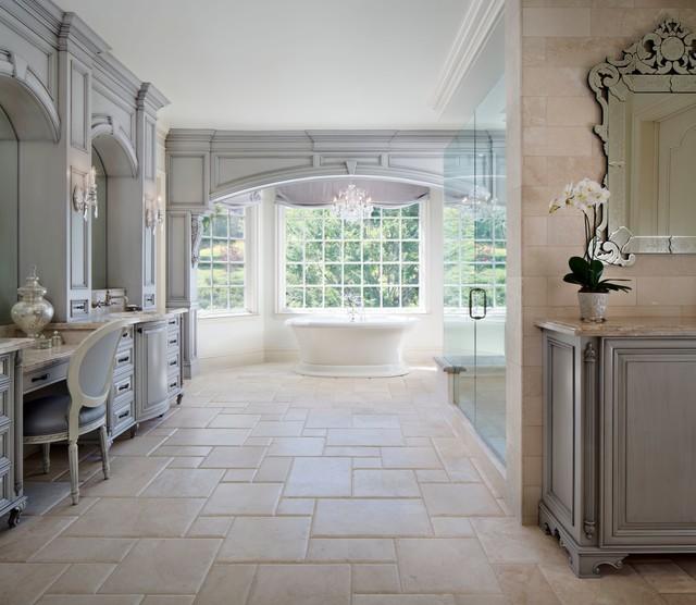 Westlake Village - French Provincial - Traditional - Bathroom - los angeles - by MODEL DESIGN INC.
