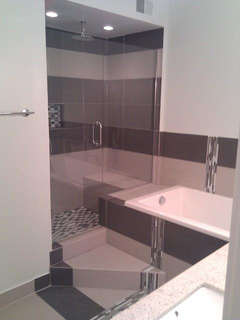 Westloop Condo Bathroom Remodel contemporary-bathroom