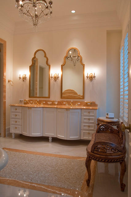 Weston-Ft. Lauderdale, Clean Classical Bathrooms traditional-bathroom