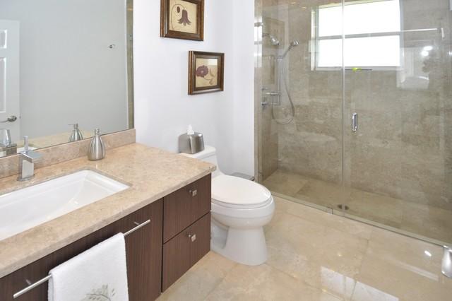 Weston House contemporary-bathroom