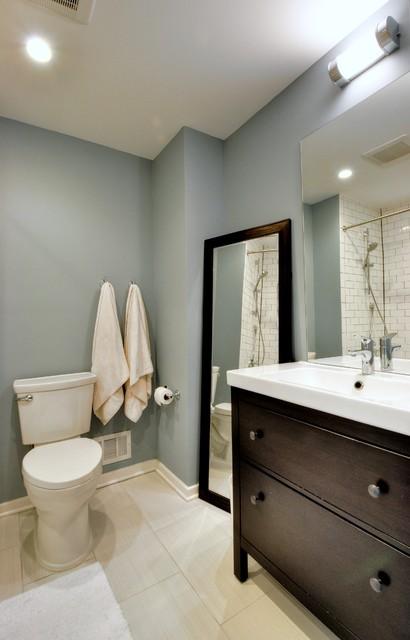 Westover 80s Update Hall Bathroom Modern Bathroom Dc Metro By Lisa Garcia
