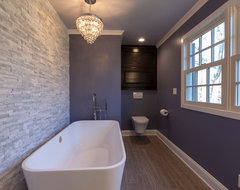 Grand with Glitz contemporary bathroom